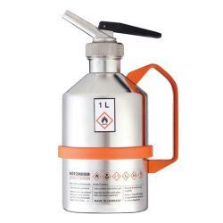 Bidón de seguridad con grifo para productos inflamables y explosivos, 1 L