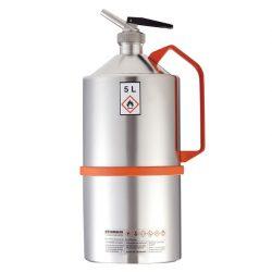 Bidón de seguridad con grifo para productos inflamables y explosivos, 5 L