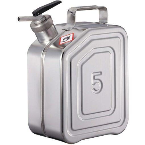 Jerrican de seguridad con grifo para productos inflamables y explosivos 1