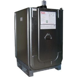 Depósito para gasoil de acero/PE doble pared equipada 400 L 73 cm x 70 cm x 132 cm