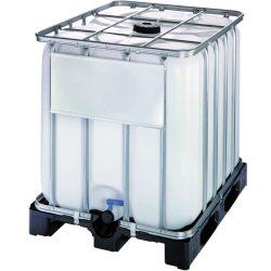 Cuba de almacenamiento multifluido polietileno 1000 L 120 cm x 100 cm x 116,4 cm