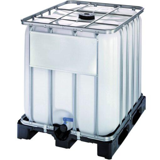 Cuba de almacenamiento multifluido polietileno 1000 L 120 cm x 100 cm x 116,4 cm 1