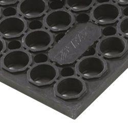 Sanitop Deluxe™  Losas-rejillas antifatiga para uso extremo Color Negro 152 cm x 91 cm x 2 cm