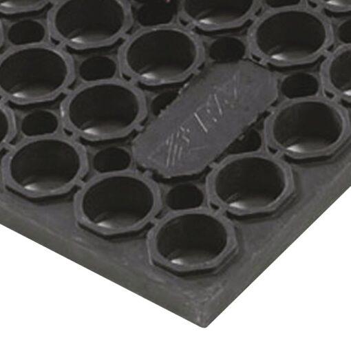 Sanitop Deluxe™  Losas-rejillas antifatiga para uso extremo Color Negro 152 cm x 91 cm x 2 cm 1