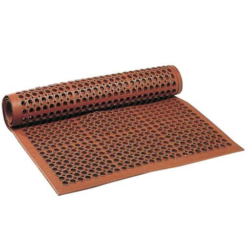 Sanitop™ Alfombra-rejilla antifatiga para uso intensivo Color Rojo 152 cm x 91 cm x 1,27 cm 1