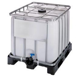 Cuba de almacenamiento multifluido polietieno 800 L 120 cm x 100 cm x 100 cm