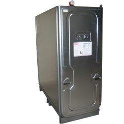 Tanque de almacenamiento multifluido acero/PE doble pared 1500 L 163 cm x 76 cm x 195 cm