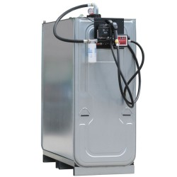 Cuba de almacenamiento gasoil de acero/PE doble pared equipada 1000 L 166 cm x 76 cm x 142 cm