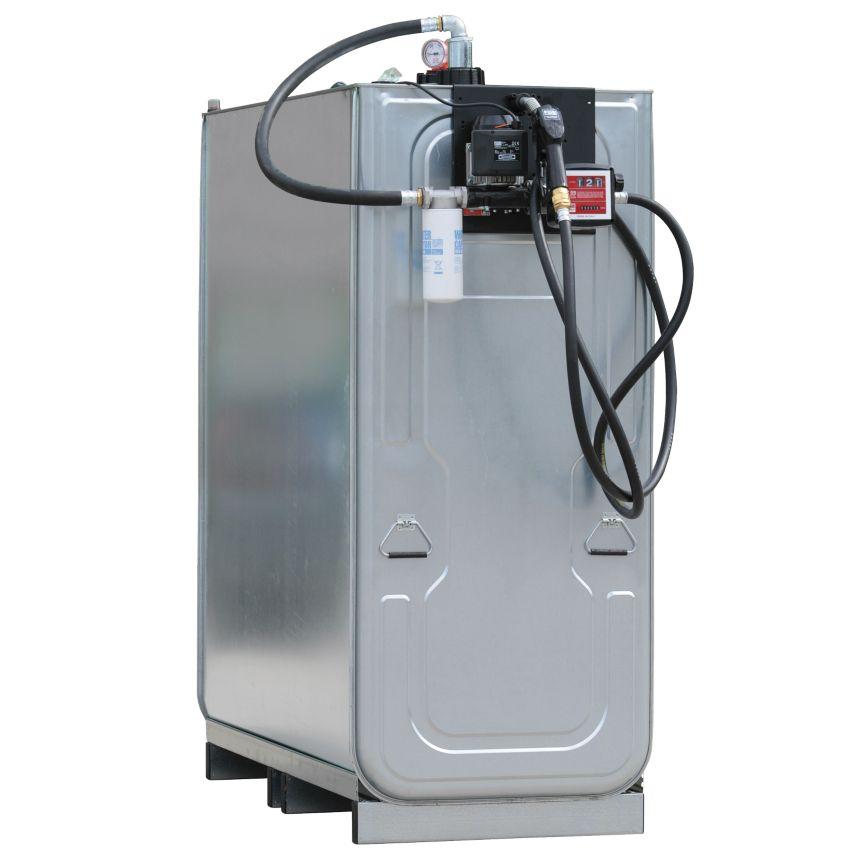 Dep sito de almacenamiento gasoil de acero pe doble pared for Estanque de 1000 litros