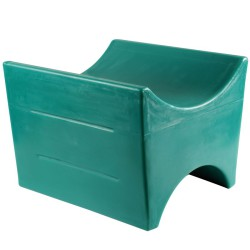 Soporte polietileno 1 bidón 60 o 220 litros 49,5 cm x 49,5 cm x 39 cm