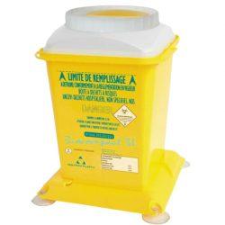 10 recipientes de plásticos para desechos biológicos 1,8 L
