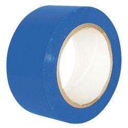 Cinta de señalización adhesiva multiuso azul 33 m