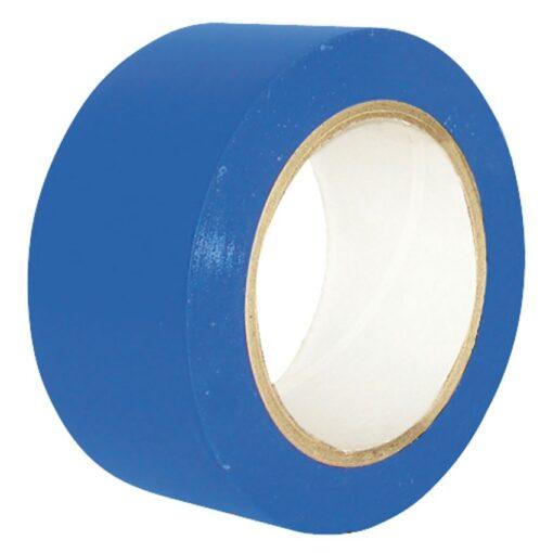 Cinta de señalización adhesiva multiuso azul 33 m 1