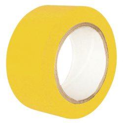 Cinta de señalización adhesiva multiuso amarilla 33 m
