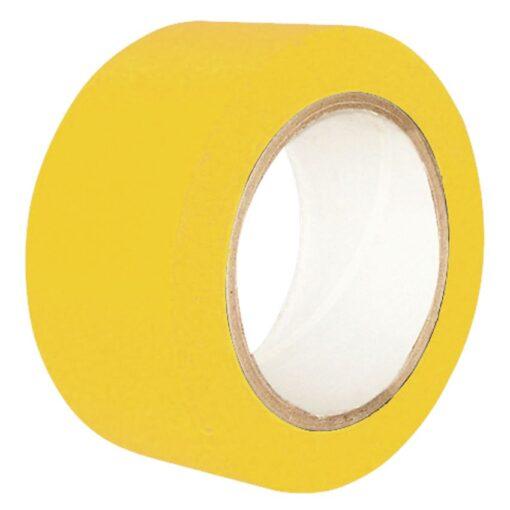 Cinta de señalización adhesiva multiuso amarilla 33 m 1
