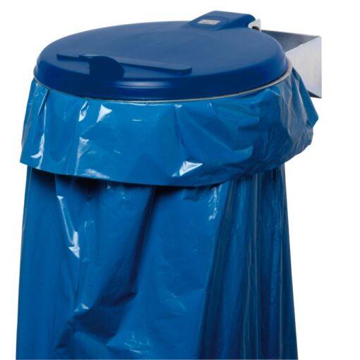 Soporte de bolsa con tapa de plástico, 110 L 1
