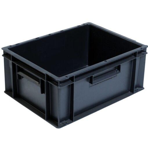 Cubeta apilable económica, 15 L, 40 cm x 30 cm x 17,5 cm 1