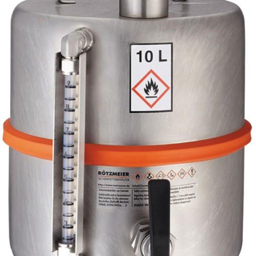 Barril de seguridad con grifo para productos inflamables y explosivos 1