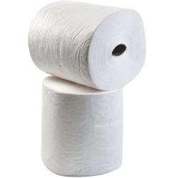 """2 Rollos absorbentes hidrocarburos """"Prim´s"""" simple espesor. La mejor relación calidad-precio. 9100 cm x 41 cm"""