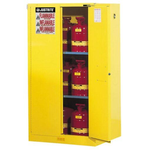 Armario de seguridad antifuego FM, 230 litros  86,4 cm x 86,4 cm x 165,1 cm 1