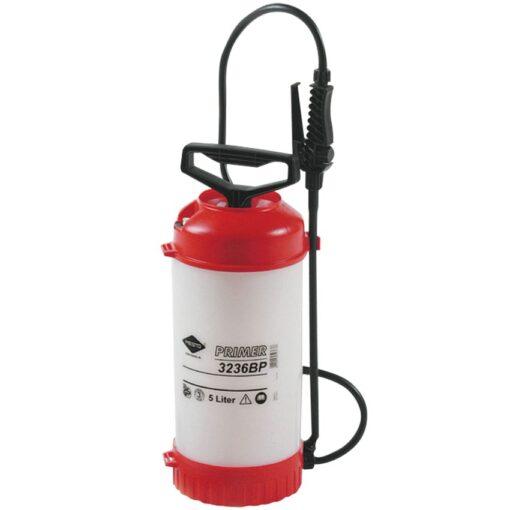 Pulverizador con depósito de 5L en polietileno. Pulverizador de presión a 3 bares