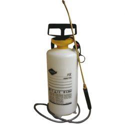 Pulverizador con depósito de 8L en polietileno. Pulverizador de presión a 3 bares.