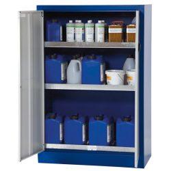 Armario de seguridad en acero para productos peligrosos, 175 litros 95 cm x 50 cm x 140 cm