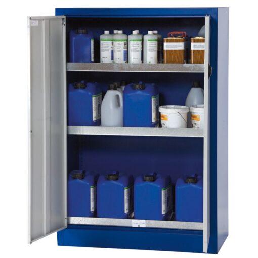 Armario de seguridad en acero para productos peligrosos, 175 litros 95 cm x 50 cm x 140 cm 1