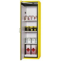 Armario de seguridad antifuego con abertura semiautomática tipo 90, 135 litros 60 cm x 61,5 cm x 196,8 cm