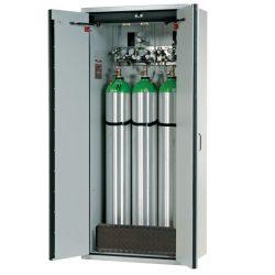 Armario de seguridad interior antifuego para 3 botellas de gas, tipo 90. 90 cm x 61,5 cm x 205 cm