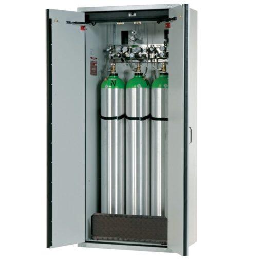 Armario de seguridad interior antifuego para 3 botellas de gas, tipo 90