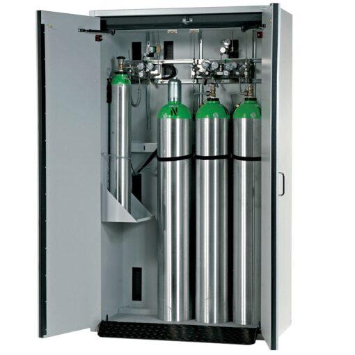 Armario de seguridad interior antifuego para 4 botellas de gas, tipo 90