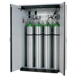 Armario de seguridad interior antifuego para 4 botellas de gas, tipo 90. 140 cm x 61,5 cm x 205 cm