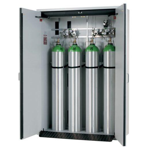 Armario de seguridad interior antifuego para 4 botellas de gas, tipo 30