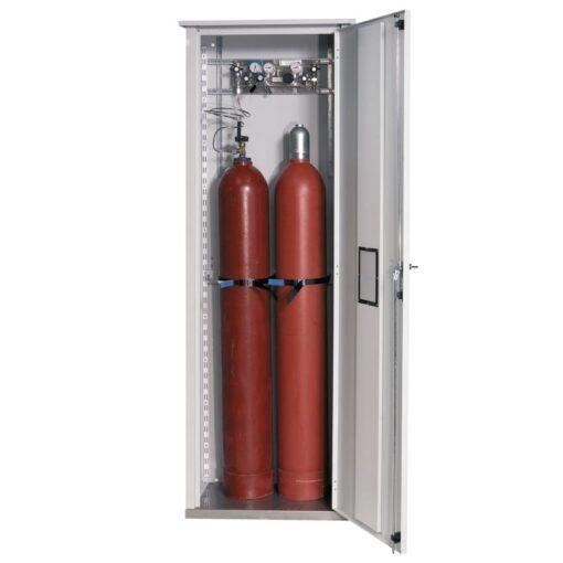 Armario de seguridad exterior para 2 botellas de gas