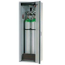 Armario de seguridad interior antifuego para 2 botellas de gas, tipo 30. 60 cm x 61,5 cm x 205 cm
