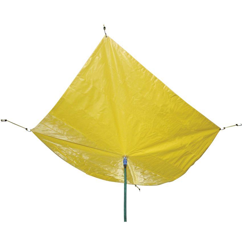 Lona antifuga para techo en vinilo reforzado haleco iberia - Techos de lona ...
