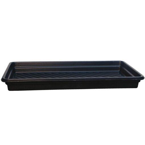 Cubeta de retención en polietileno para bidones, 90 litros 132,7 cm x 71,8 cm x 12,7 cm 1