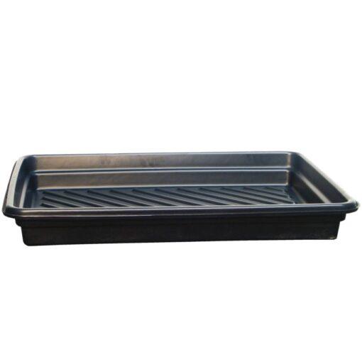 Cubeta de retención en polietileno para bidones, 68 litros 102,2 cm x 71,8 cm x 12,7 cm 1