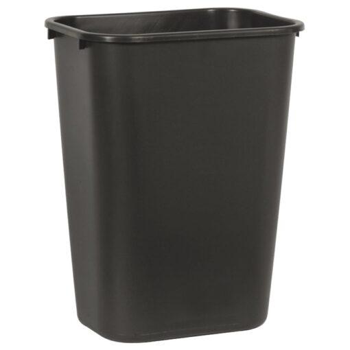 Papelera plástico flexible color Negro para recogida selectiva 39 L, 28 cm x 39 cm x 50,5 cm 1