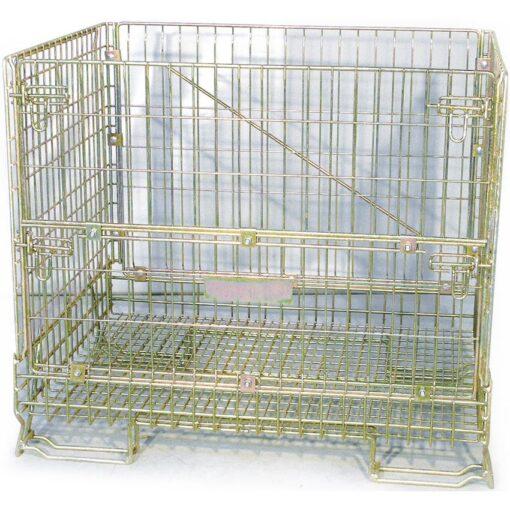 Contenedor tipo jaula para residuos de equipos eléctricos y electrónicos 1
