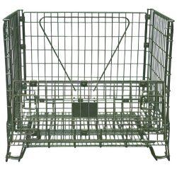 Contenedor tipo jaula para residuos de equipos eléctricos y electrónicos