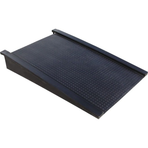 Rampa de acceso polietileno para plataforma cargas pesadas 129 cm x 81 cm x 18 cm 1