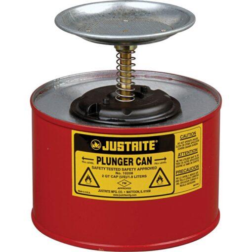 Bidón de seguridad humidificador en acero 1