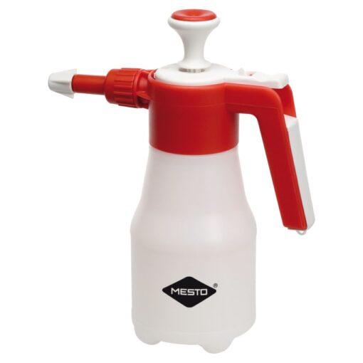 Pulverizador  de mano utilizable en cualquier posición  con depósito de 1 L de plástico