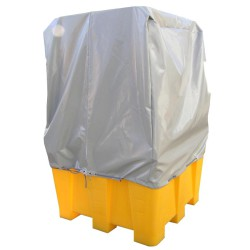 Funda de protección para cubeta de retención 130 cm x 130 cm x 130 cm