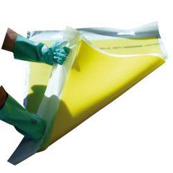 Placa de obturación monocapa con asas Prim's 6 cm x 6 cm