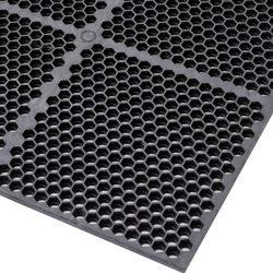 Optimat®Losa-rejilla antifatiga para agroalimentario para un uso extremo 91 cm x 61 cm x 1,27 cm