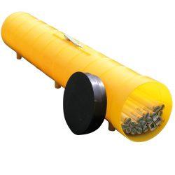 Recolector polietileno de tubos de neón, longitud 150 cm