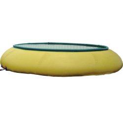 Cisterna de agua flexible abierta en tejido PVC, 3000 L 250 cm x 250 cm x 90 cm